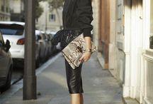 python bag outfit