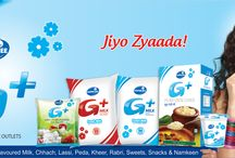 G+ Dairy Products in India / G+ is one of the leading brand of retail chain for dairy products in India.G+ leadership in retail dairy products has been quickly established due to strong brand equity and immense consumer support. G+ has grown spectacularly. http://www.rsdgroup.in/gplus.php