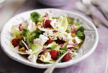 Gastlichkeit: Salate / Leckere Salat-Rezepte mit saisonalen Zutaten, originelle Salatideen und Beilagensalate für das nächste Fest.