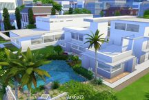 The Sims 4 / Bydlení pro Simíky / Housing for Sims