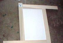 Cabinets door Molding