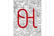 Láminas OH! / Láminas con diseños OleHule made in Barcelona. Un OleHule para enmarcar · www.olehule.com