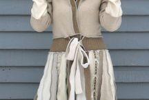 Recyklace starých svetrů