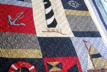 nautical quilts for baby boys