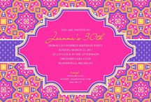 Moroccan Invitation Card