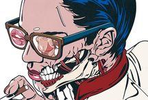 Art, Illustration, Comics