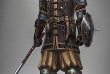 Staff of Merlin Fighters/Metal Armor