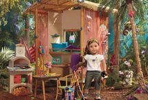 American girl dollhouses