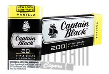 Captain Black Little Cigars / Captain Black Little Cigars are intoxicating little cigars infused with hints of sweetness. These cigars are super convenient due to its small size, taking away the hassle of smoking a full size cigar. With premium blend of Indonesian, Philippine and United States tobaccos and a flavorful sheet wrapper, these taste spicy and sweet.