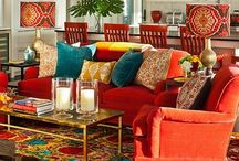 Living Spaces: Beautiful Home Ideas / Where we meet with family, where we work, where we make our life.
