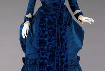 Victorian Women's Fashion -1880s