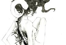 Illustration / by Chucho Malagradecido