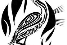 profili disegni neri