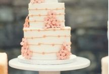 Joyful Cakes / frosted with buttercream, tiers to the sky