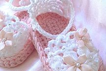 sandalias niñas crochet
