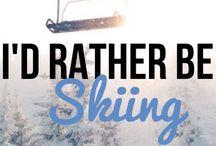 Snow Skiing ❄️ / Snow Skiing