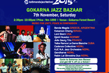 Jazz Bazaar At Gokarna Forest Resort on 7th November. Limited Rooms Available!!! Hurry :-)