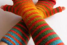 Stricken - Handschuhe, Pulswärmer