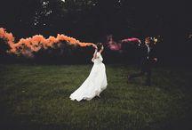 Couple fumigène et pigments
