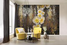 Flowers & Textures Photomurals