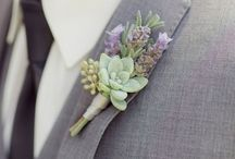 Boutonnieres / Party and wedding boutonnieres. Succulents, rusitc, simple, classic, modern, artdeco, woodsy, wildflower, greenery, rose, lilly, geometric, floral