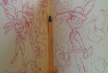 sketchbook / Идет для скетчбука