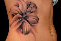 lilies tattoo