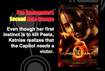 Hunger Games Freebies / Free resources for teaching The Hunger Games, Catching Fire, and Mockingjay #free Hunger Games