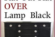 Black Furniture     Black Dressers    Black Sideboards & Buffets / Refinished black furniture.  Black dressers.  Black sideboards. Black buffets.  Black distressed furniture