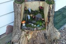 Stump and fairy ideas