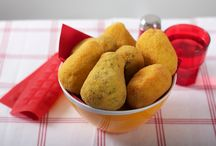 Aranciotti Girarrosti Santa Rita / Arancini di riso (Fried rice croquettes)