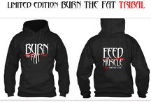 Burn The Fat Clothing / Presenting our official Burn the Fat clothing line!! Hoodies & T-shirts are in LIMITED editions & numbers, so please get yours now! http://www.burnthefatclothing.com