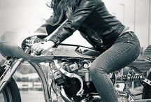 Women on Motorcycles / Women motorcycle riders / by YouMotorcycle