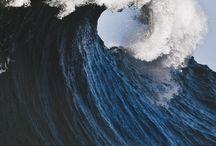 Bleu, océan
