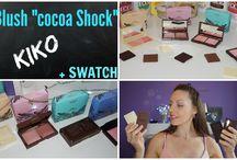 22ღ Blush Cocoa Shock de chez KIKO + Swatch
