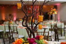 Деревья в декоре.