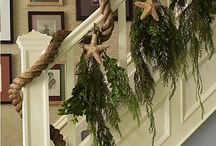 Ideas for Christmas stairs / by Christa Deschenes