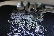 Machine embroidery ideas / by Jocelyn Langdon