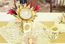 LOVE KNOT {DETAILS} / Bouquets, placecards, invitations, centerpieces..
