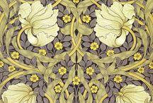 wallpapers/fabrics
