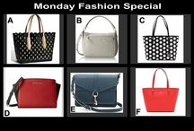 Monday Fashion Special August 18 at 10 PM / Designer Handbags for Auction at the Unique Site OneCentChic.com - penny auction starts at 10 PM - don't miss out