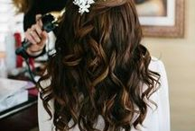 Aunty Kat wedding hair ideas