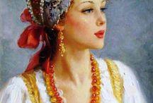 Русская краса / Очарование чистой красоты....