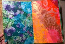2016:9 Gelli plates / May1st-15th, 2016 on the PA blog we are exploring the topic of Gelli Plate Printing. Gelli plates of all shapes and sizes now make this topic a mixed media must to turn your hand to for journalling, card making, or creating backgrounds of all kinds, come and see what our designers get up to on the blog when exploring this topic.