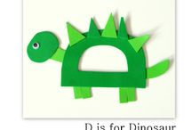 DINOSAUR UNIT STUDY FOR PRESCHOOLERS / DINOSAUR FUN IN PRESCHOOL / by Akane @ Juggling With Kids