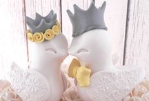 Grey Yellow Wedding