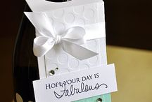 Gift Tags - Wine Bottles / by Dana Ingram