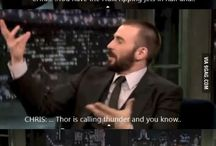 Chris Evans / Captain America, Human Torch... and many more