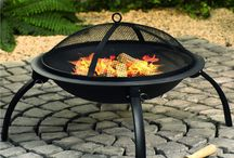 Garden Patio Heater Fire Pit Log BBQ Barbeque Small Outdoor Camping Chimenea