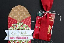 Stampin' Up! - Gift Card & trims thinlits dies